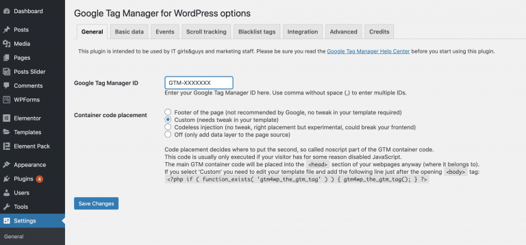 Google-Tag-Manager-plugin